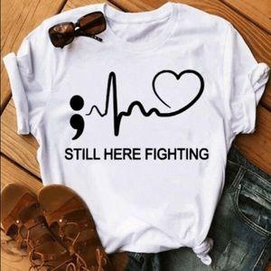 Still here fighting